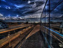 Railway Station Cracow II by kubica