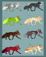 Canine adopts: 80 points and under-OPEN by T-Harley