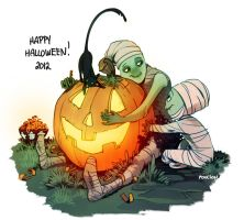 Happy Halloween 2012 by CasCanete