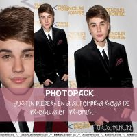 Photopack JUSTIN BIEBER EN PROCILS OF  PROMICE by tutosLaruFiore