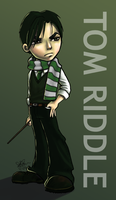 Chibi - Tom Riddle by sophiac