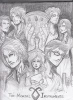 The Mortal Instruments by seththelordofstorms