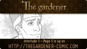The gardener - Interlude 1 page 1 by Marc-G
