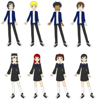 Digimon oc school clothes 2.1 by Prismblack91