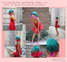 Summer Never Ends -  charity auction wig by red-cluster