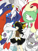 Checkmate Trainer Memorii's Team by MemoriiMakiko