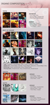 TOTW #20 + Best of Insane#20 + DAOTM-DOTM-POTM#4 by InsaneComposition