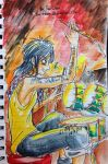 the old old old drummer of avenged sevenfold by sw-eden