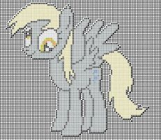 Derpy Hooves pixel art design for MC by xxchippy13xx