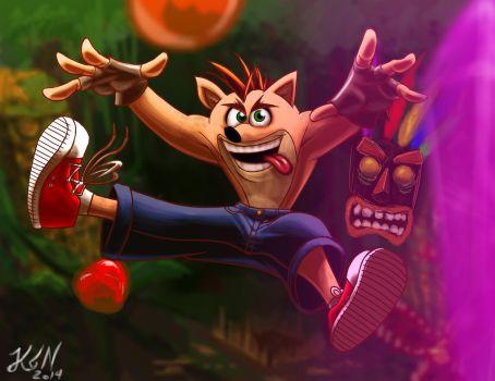 Crash Bandicoot by thorup
