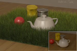 3ds grass n material test by SanchoPancho