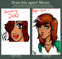 Before and After Meme by PandaBeans