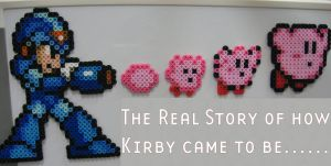 How Kirby came to be made with Perler Beads by cracklebyte