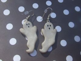 Ghost Earrings by manditaaknfv