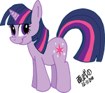 Twilight Sparkle by TuxedoMoroboshi