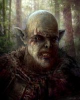 forest troll by yonaz