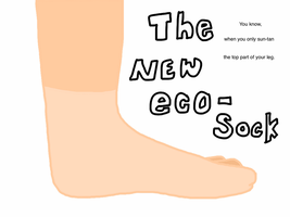 the eco-sock by Arashi-Penguin