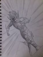 kid flash shaded by marty0x
