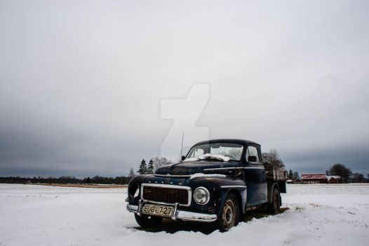 Volvo PV08 by TheSlowSlowpoke