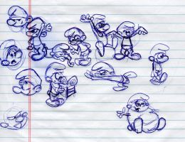 smurfs by osmosis430
