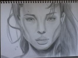Angelina jolie by BeHaluing