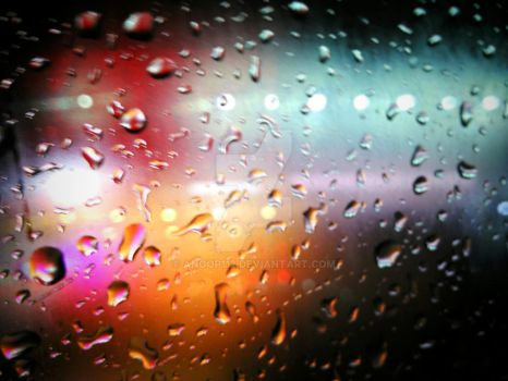 drops in glass by anoop112
