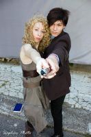 Doctor Who and River Song 2 by Kura-Kitsune