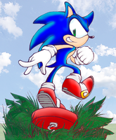 Sonic Spring Valley by Mephilez
