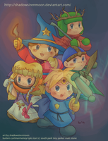 Chibi-South Park The Stick of Truth by shadowsirenmoon
