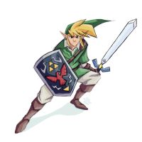 Link Sketch 12-1-2012 by Tigerhawk01