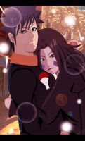 Obito and Rin Love Reunion by Sarah927
