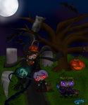 CE : HALLOWEEN / Let's play trick or Treat by JasmineM18