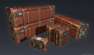 QR 3d Container by Talros