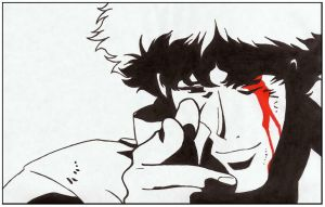 Cowboy Bebop - Bang. by White-Rose-At-Mornin