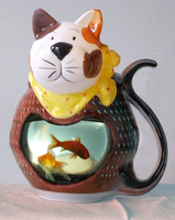 cat fishbowl by sethness