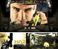 Haze microsite by dsdesign