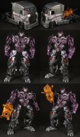 Custom AOE G1 Galvatron by Solrac333