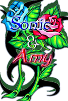Sonic and Amy: LOGO by PhotoPhobee