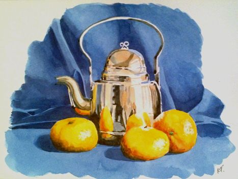 Kettle and Oranges by ronnietucker