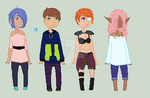 Adopts yooo OPEN 2 out of 4 left by elixastherollinggirl
