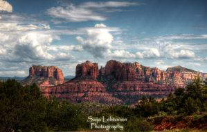 The Grandeur of Sedona by CeeThruMyEyes