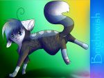 CandyCatz Commission by GlaceTheCat