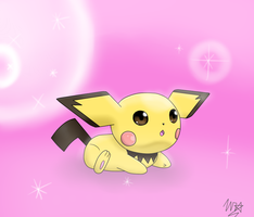 Baby Pichu by UltimateCharizard006