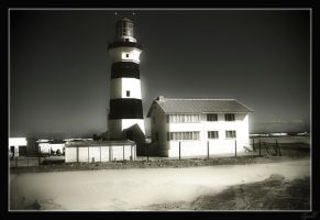 The Lighthouse by Q-tipper