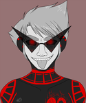 Smirk Prompt - Hal A3 by TheMockingCrows
