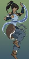 Legend of Korra by Bluesky55j