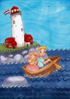 The Secret Of The Sea by My-Anne
