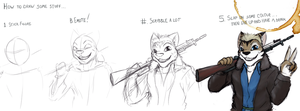 Doodle: Shitty Tutorial by Drake-TigerClaw
