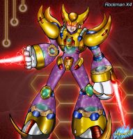 MMX4: Double's Transformation by Shinobi-Gambu