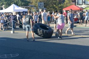 2014 Fluff Fest, Tire Rolling 2 by Miss-Tbones